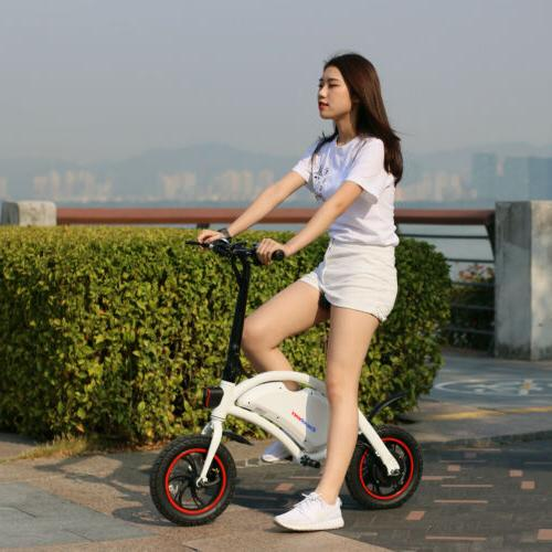 Portable Folding Bicycle E Bike 36V Lithium