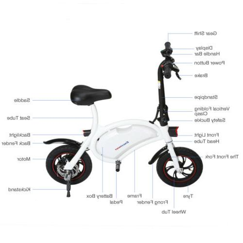 Electric Bike Collapsible 36V 250W US