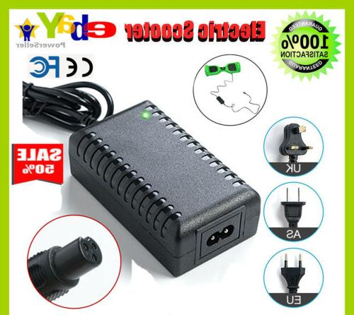 power adapter battery charger 42v for smart