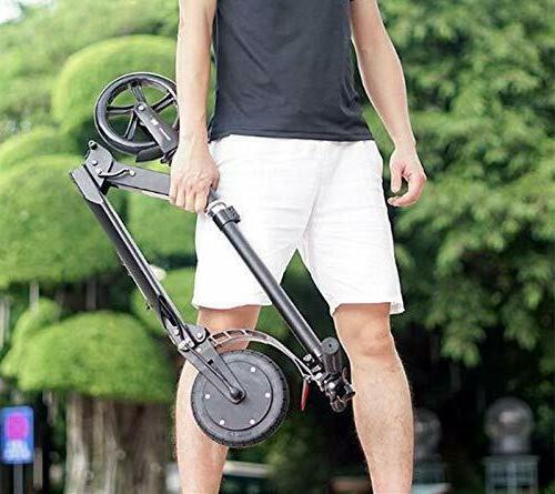 Power Assist Electric Scooter Lightweight