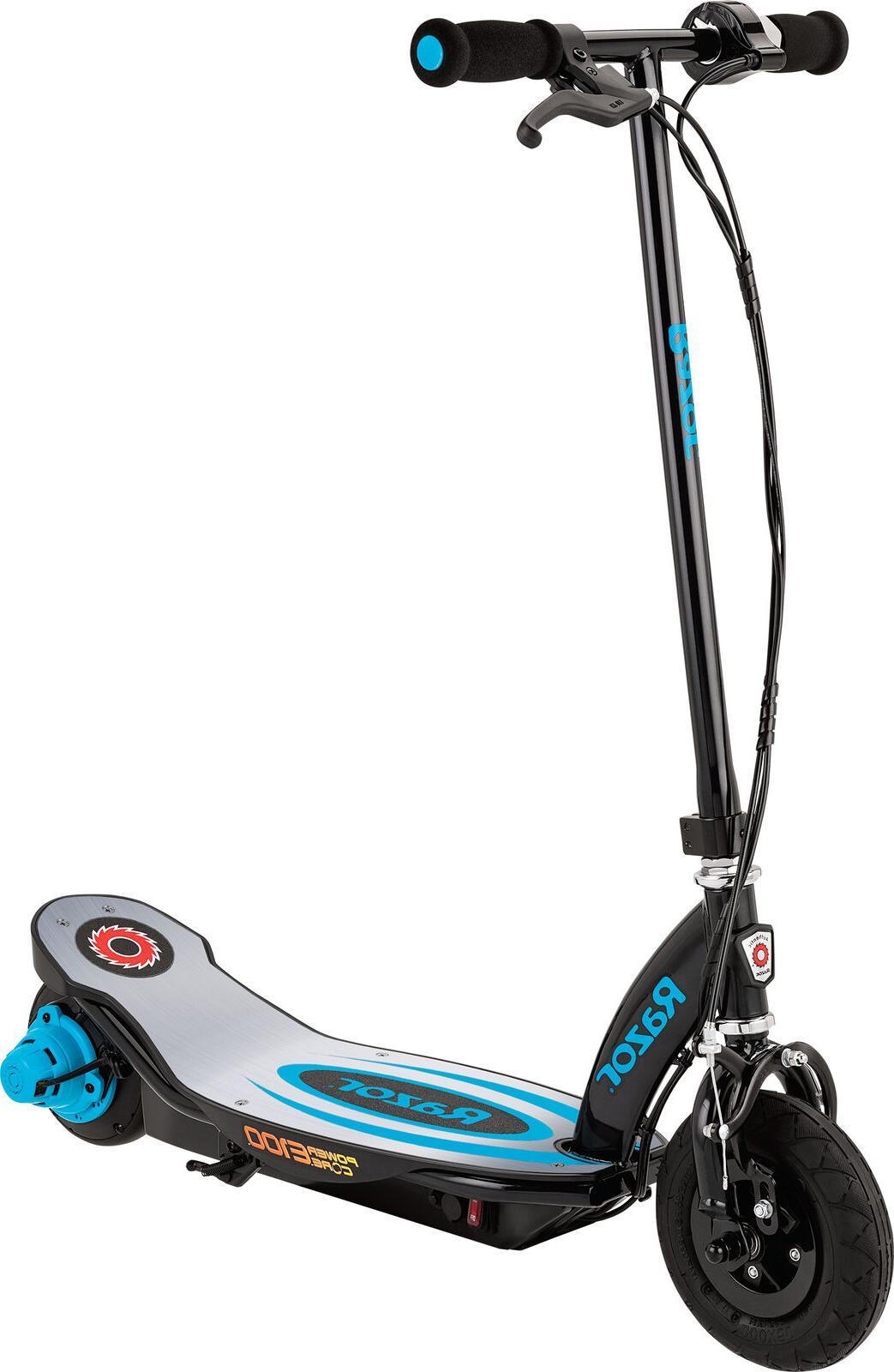 power core e100 electric scooter w aluminum