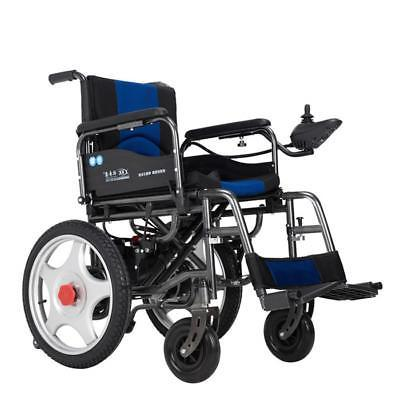 Power Wheelchairs Portable Elderly Disabled Scooter Dual Motors