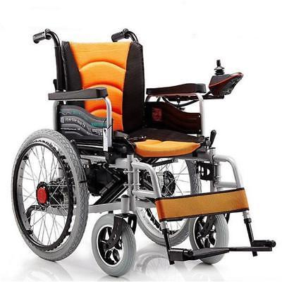 Power Electric Wheelchairs Folding Portable Elderly Dual