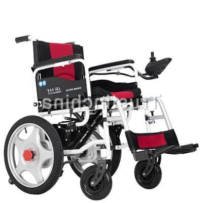 Portable Power Electric Wheelchairs Elderly Dual