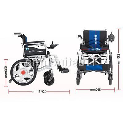 Portable Wheelchairs Elderly Disabled Dual Motors