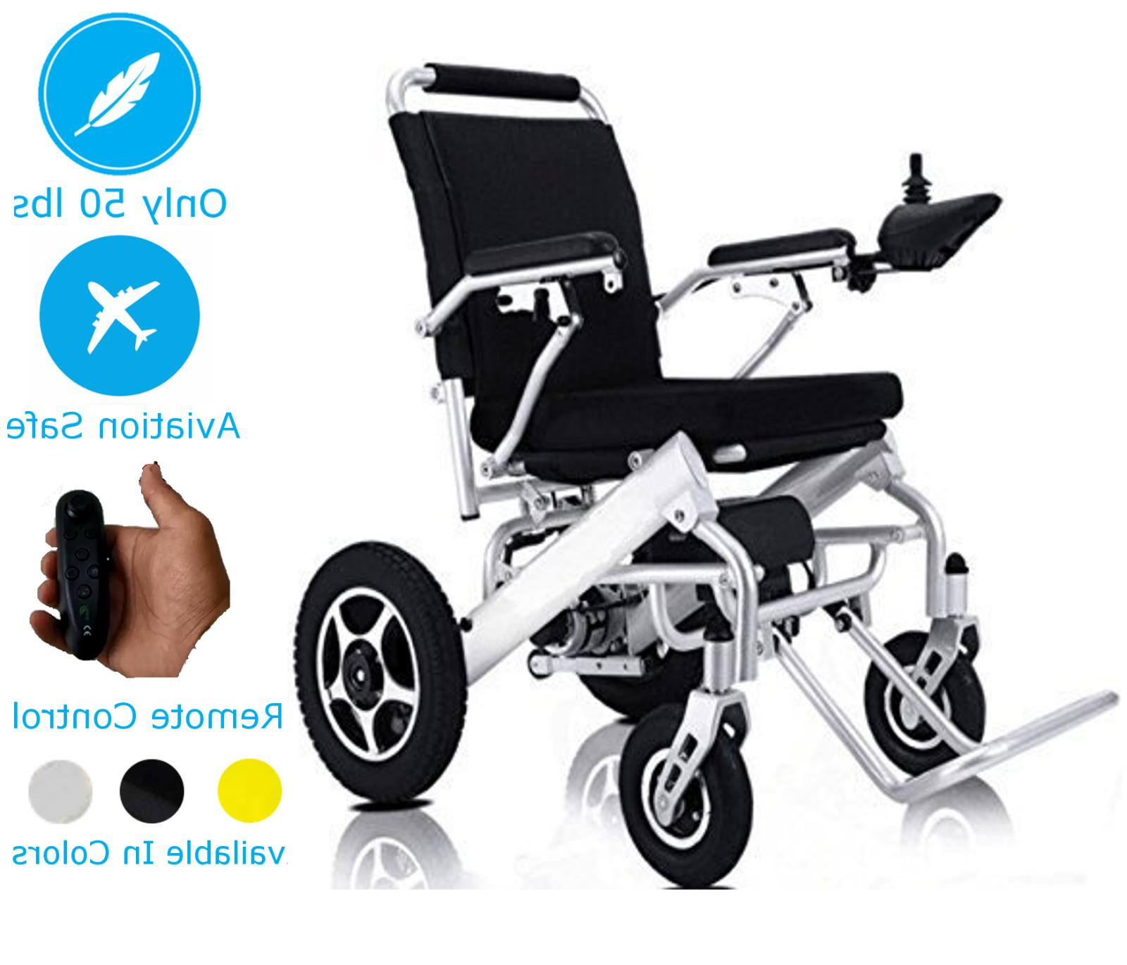 Lightweight Electric Wheelchair Mobility Chair Folding Elect