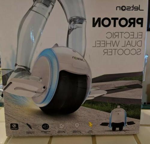 Jetson Wheel Scooter, White