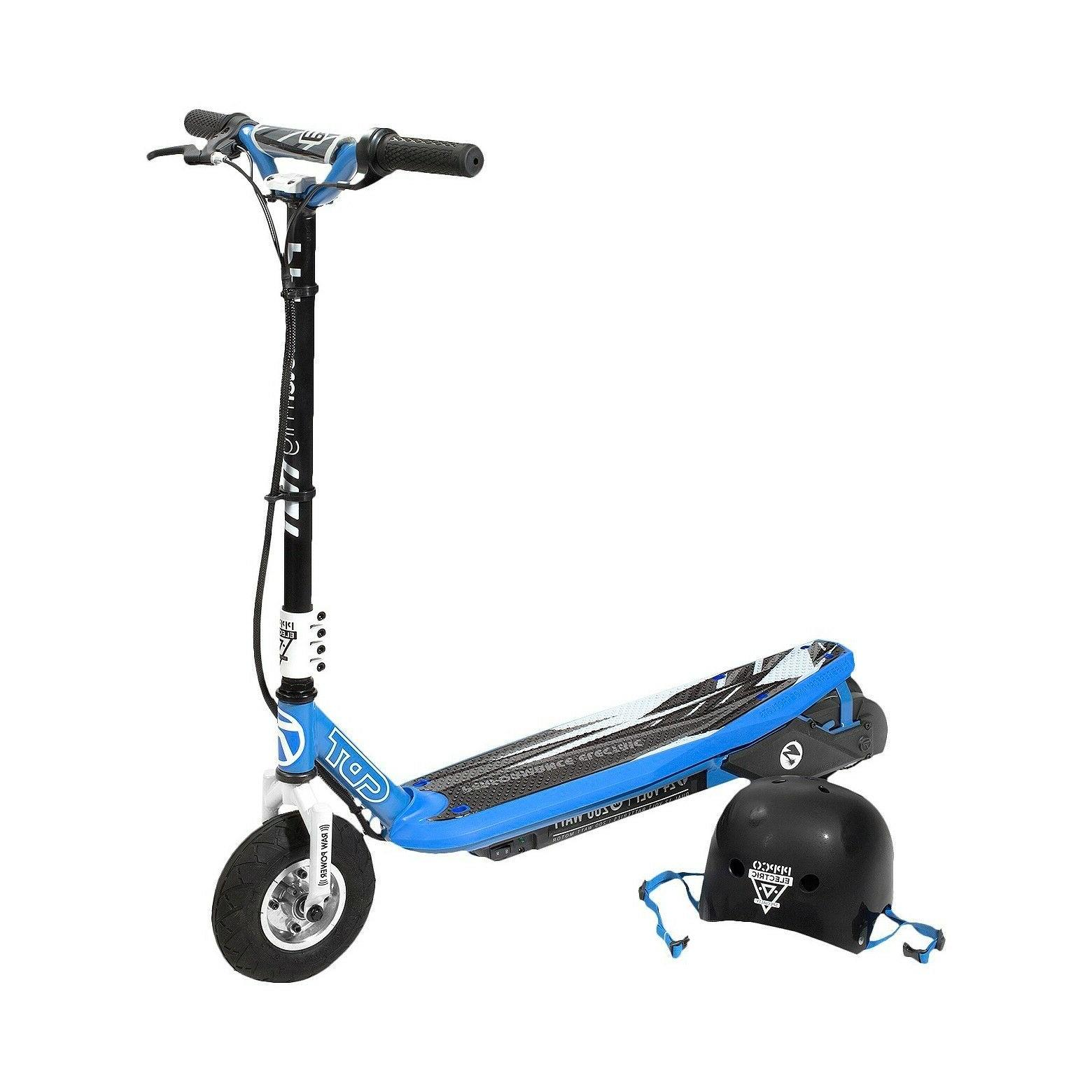 pulse performance sonic electric scooter and helmet