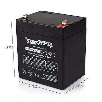 Razor E100 E125 Electric Scooter battery ExpertPower 5AH Pack