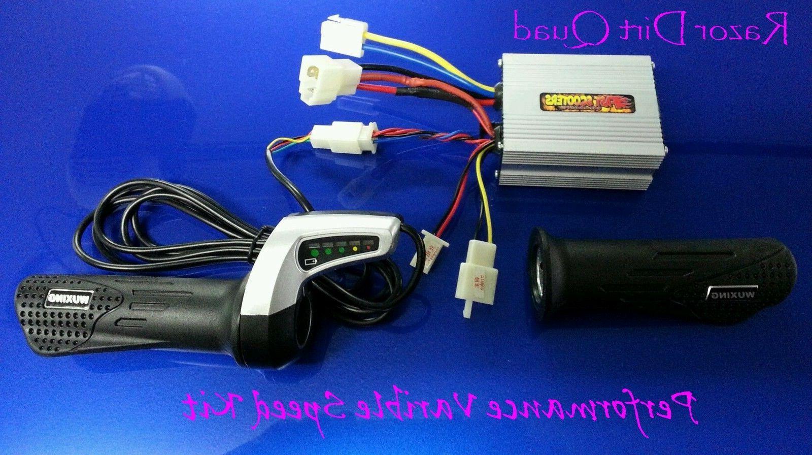 razor electrical kit dirt quad variable speed
