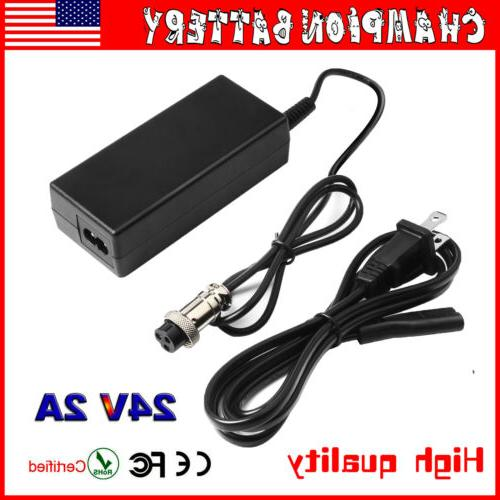 razor scooter battery charger 24v for e300