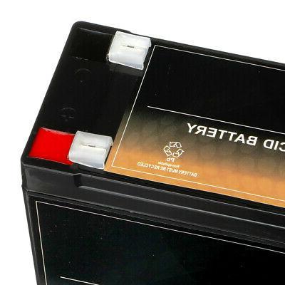 12V 10.5AH replaces REC10-12 ES10-12S PSH-12100F2 UB12100-S -