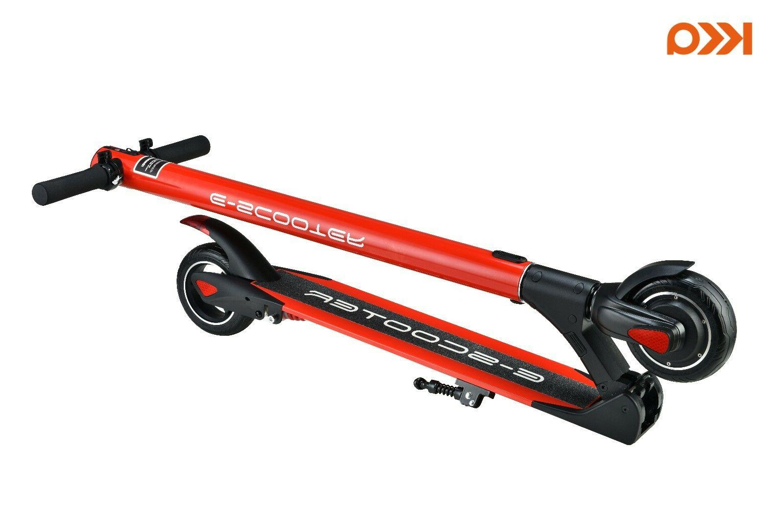 Red Electric Scooter, Battery Electric Scooters Adult