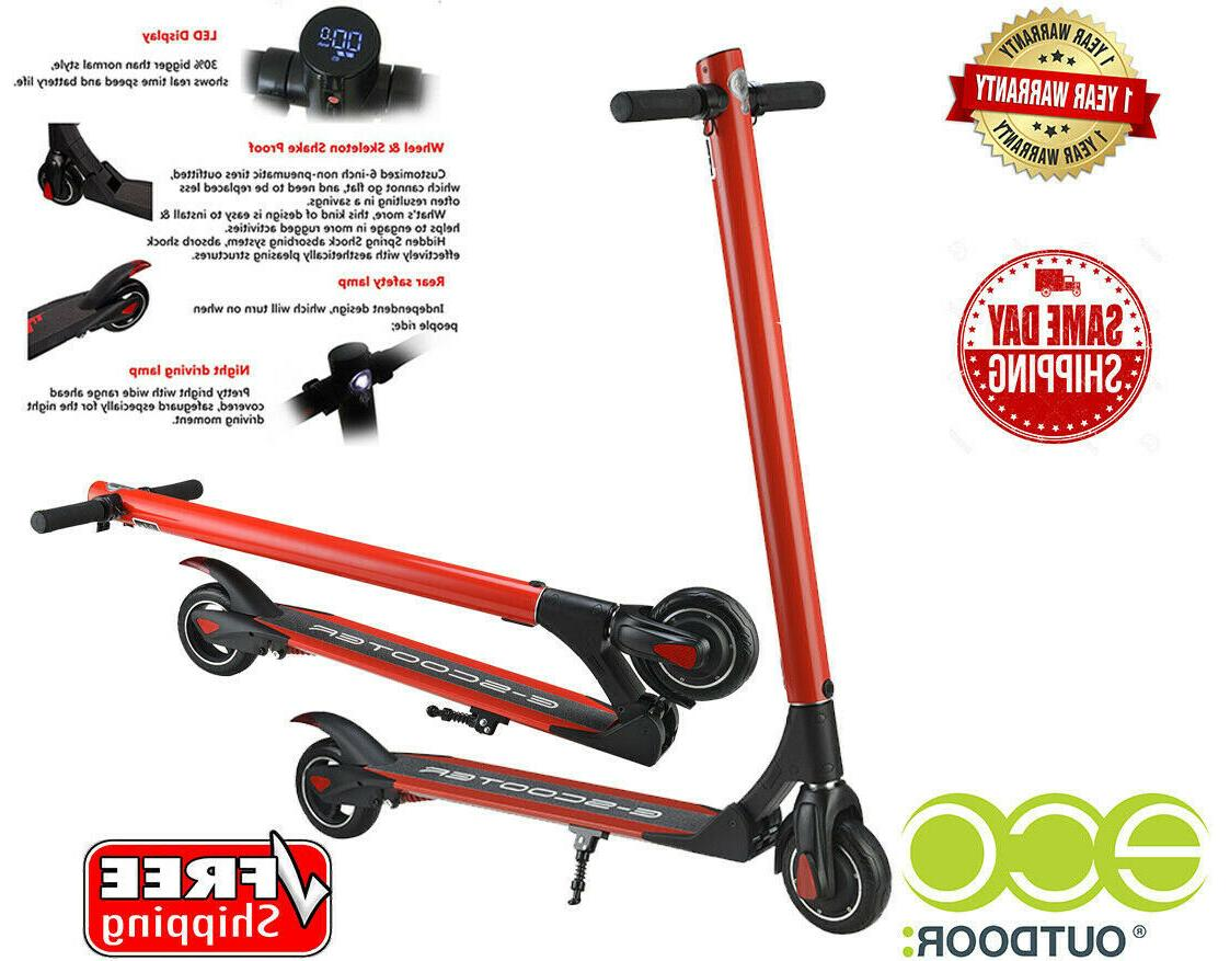 Red Scooter, Battery Scooters