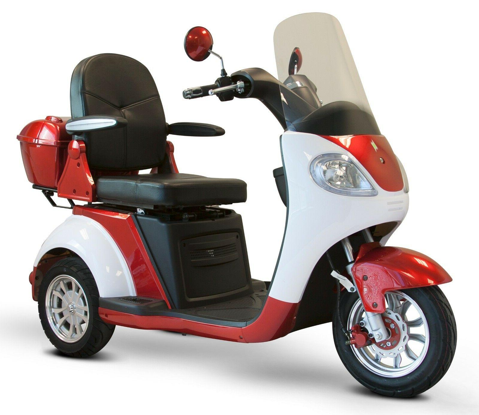 red ew 42 3 wheel scooter