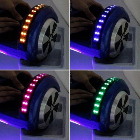 Black LED Balancing 6.5inch Hover Board Electric Scooter