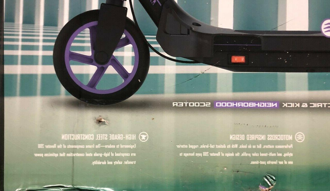 Pulse Performance Revster 200 Scooter Purple
