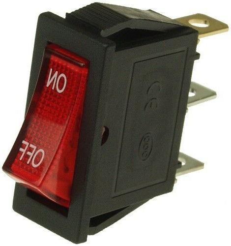rocker power switch with 36 volt 36v