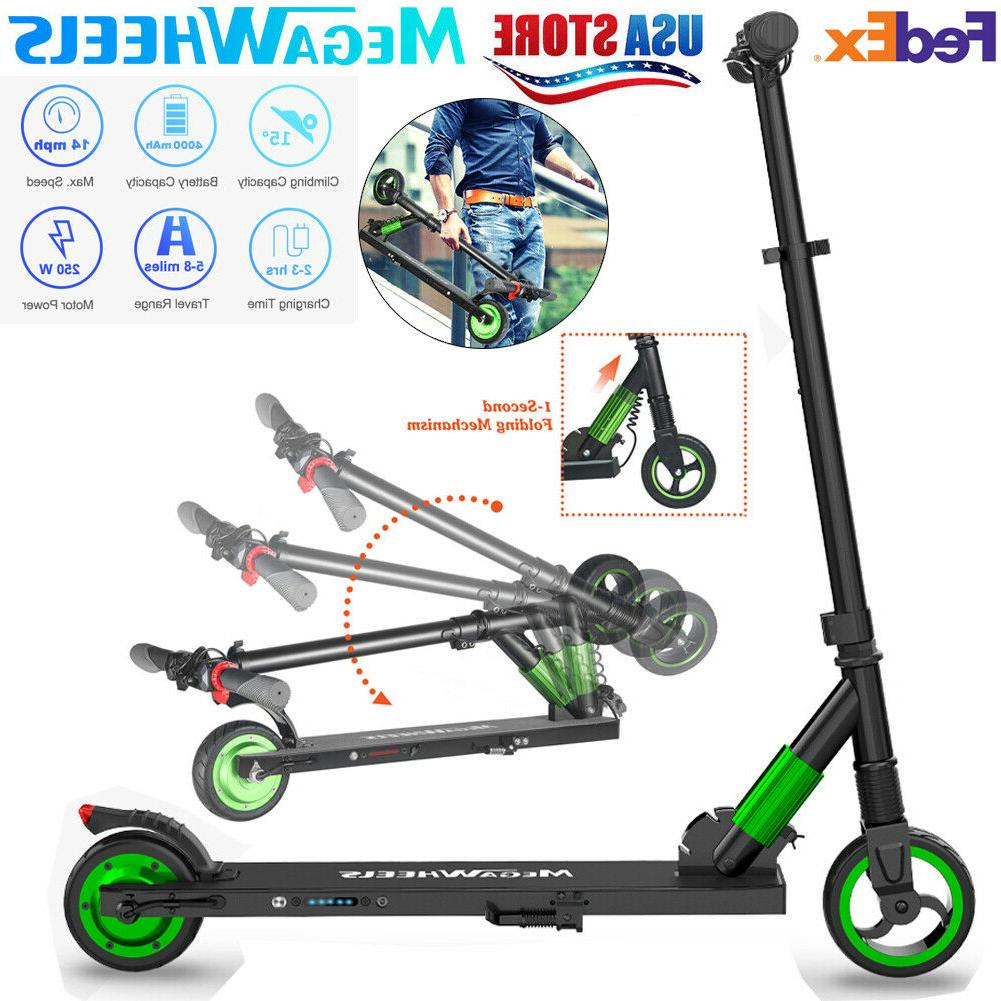 Megawheels S1 250W Folding Electric Scooters City Motor E-Scooter