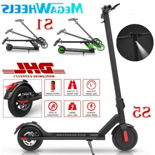 Megawheels Electric Scooter 250W Ultralight Scooter Adults US
