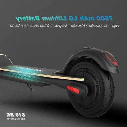 MEGAWHEELS S10, FOLDING ELECTRIC SCOOTER, 16MPH, TIRE