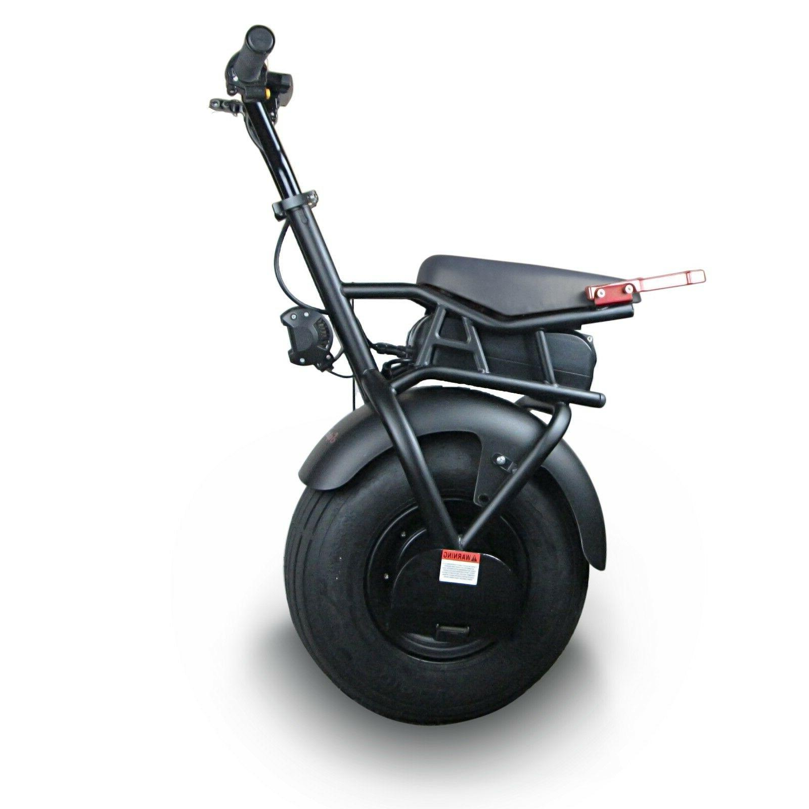 SUPERRIDE Self Balancing Electric One Big Wheel & 1000W Motor