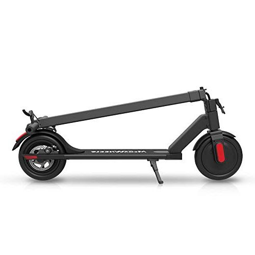 MEGAWHEELS Electric - Miles Range and MPH Lightweight Folding Commuter E-Scooter