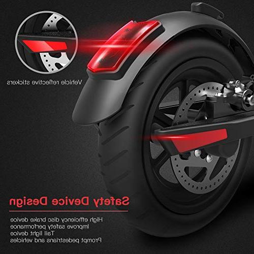 - Up 13 Miles and 15.5 MPH Lightweight for Adults
