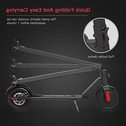 MEGAWHEELS S5 Electric - Miles and 15.5 MPH Lightweight for Adults