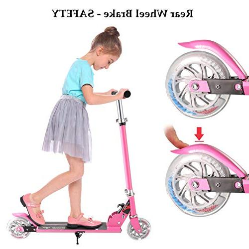 Hikole Boys Girls | 2 Wheel Adjustable Mini Birthday Age from 4 10
