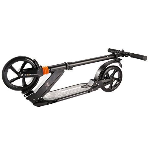 kids/Adult with 3 Seconds System, Folding Adjustable Scooter Disc Large Wheels