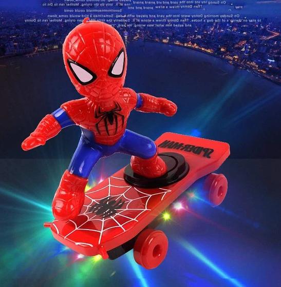 Scooter Car Toys SpiderMan Black Iron Captain America