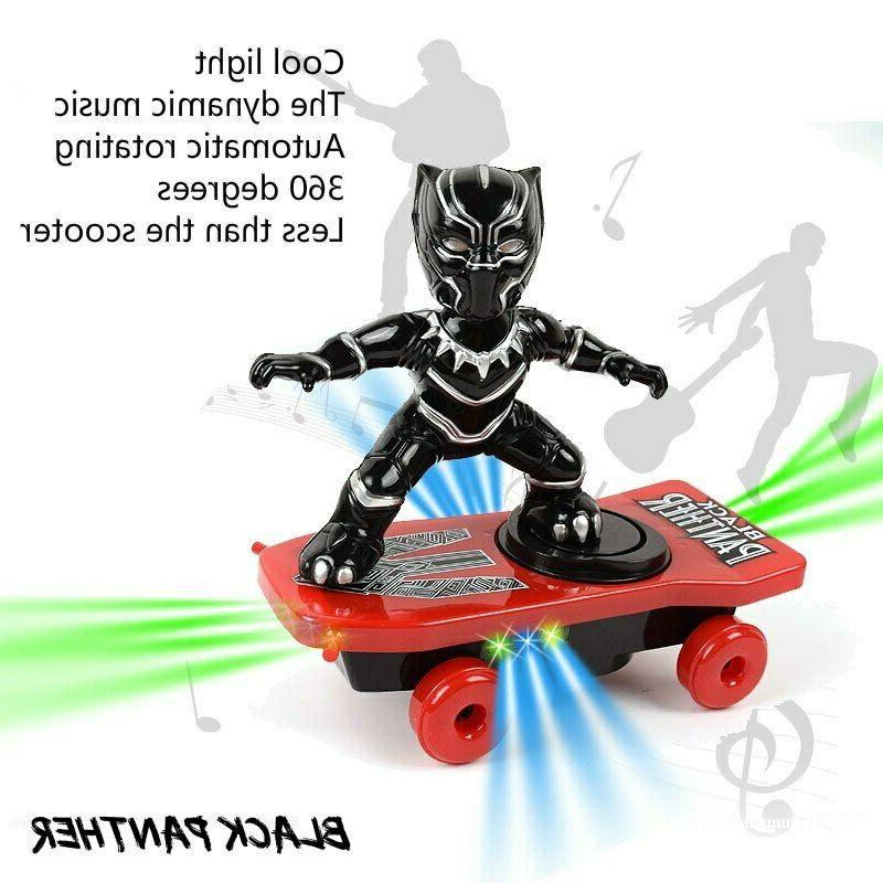 Scooter Electric Toys Black Iron Man Captain