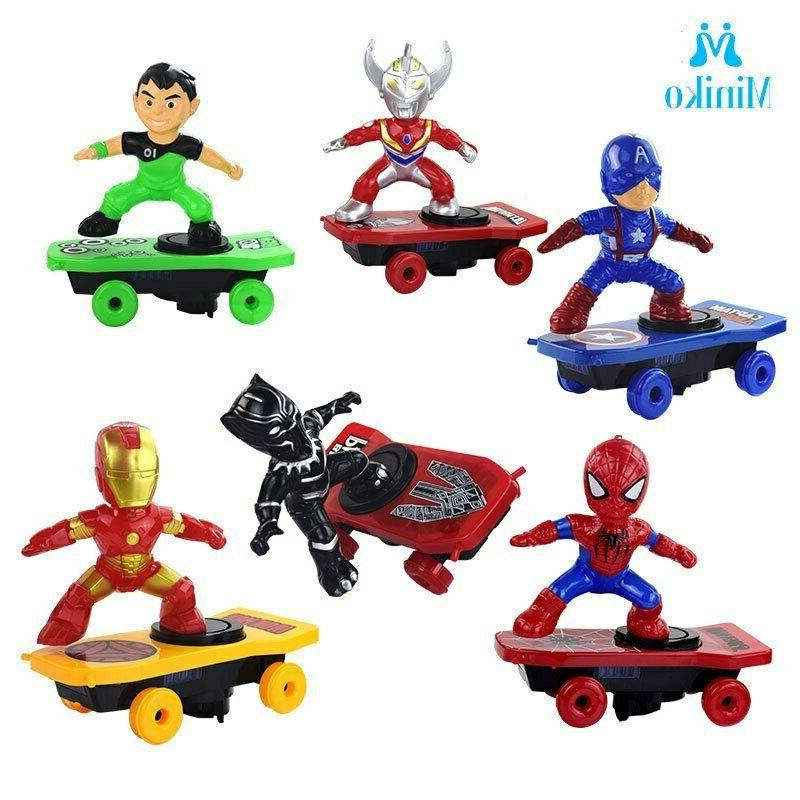 Scooter Electric Toys SpiderMan Panther Iron Captain America