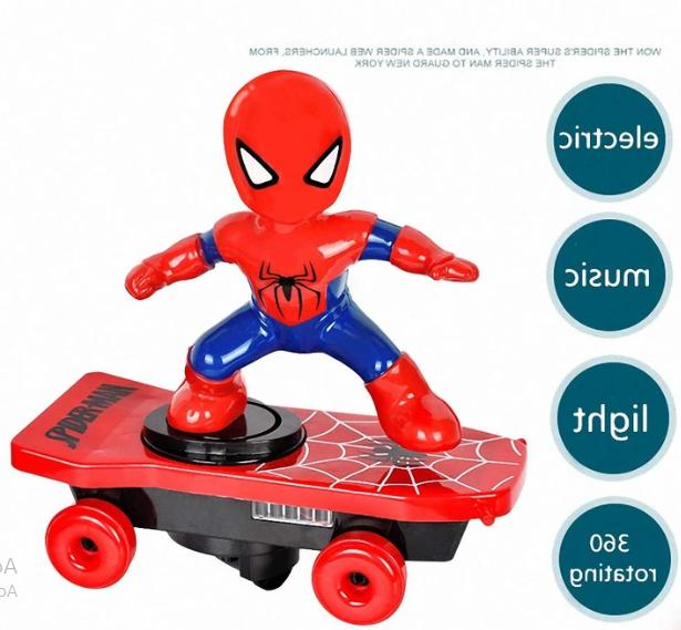 Scooter Electric Stunt Toys Iron Man