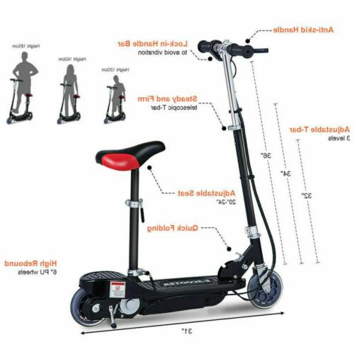 Folding Electric Seated Rechargeable Ride