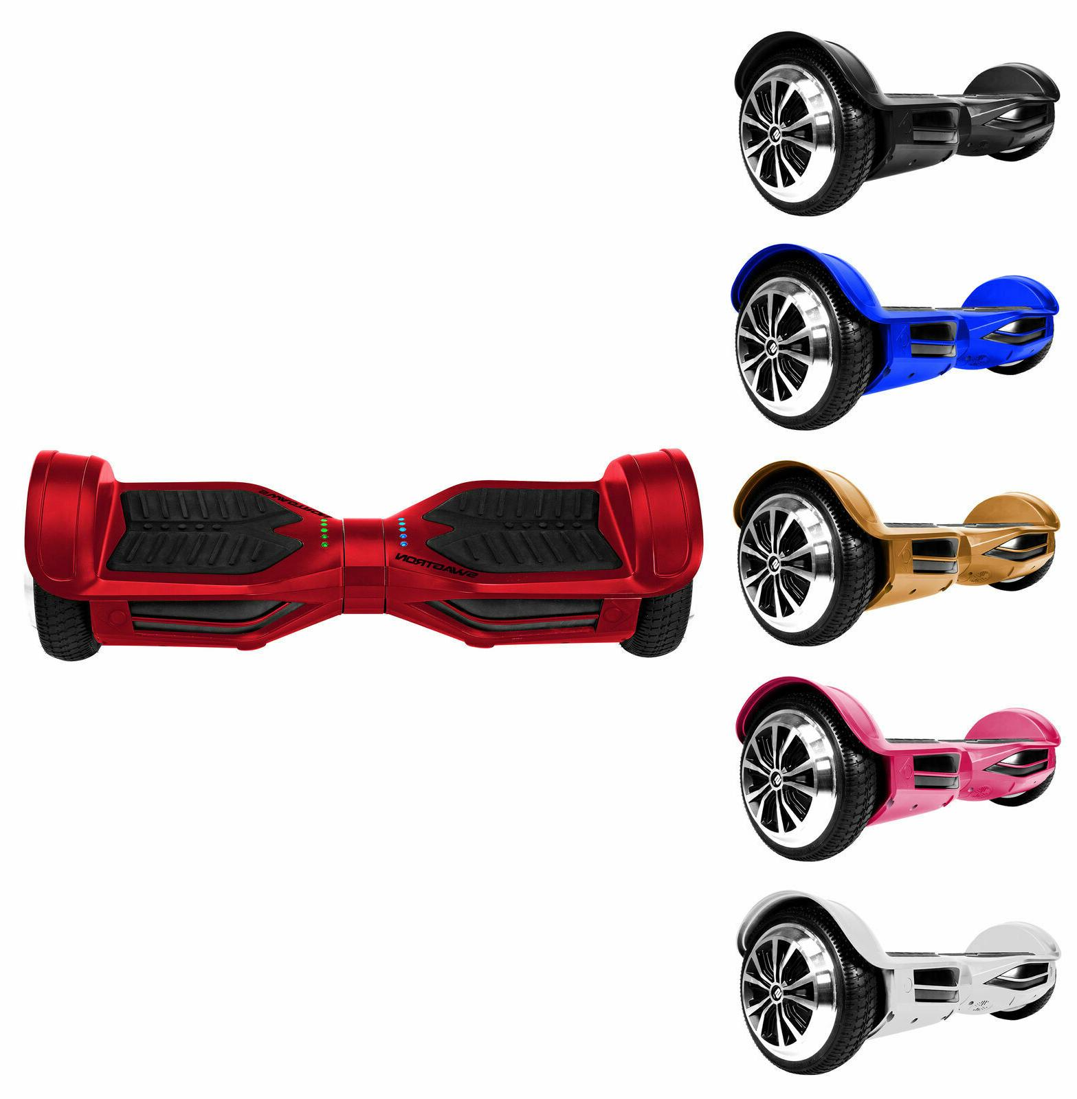 self balancing hoverboard bluetooth speaker and lights