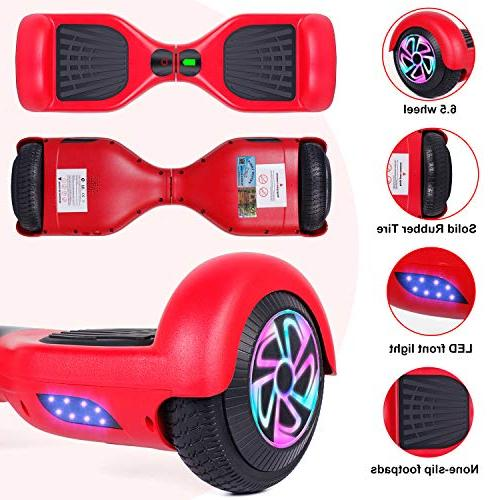 EPCTEK Balancing Hoverboards with Light Carrying Inch Two Wheel Electric for Certified