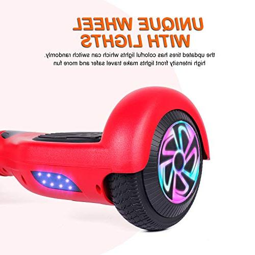 EPCTEK with and Carrying Bag,6.5 Wheel Smart Electric for and Certified