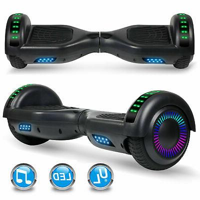 Self Balancing Scooter UL2272 w/ Bluetooth Light 6.5""