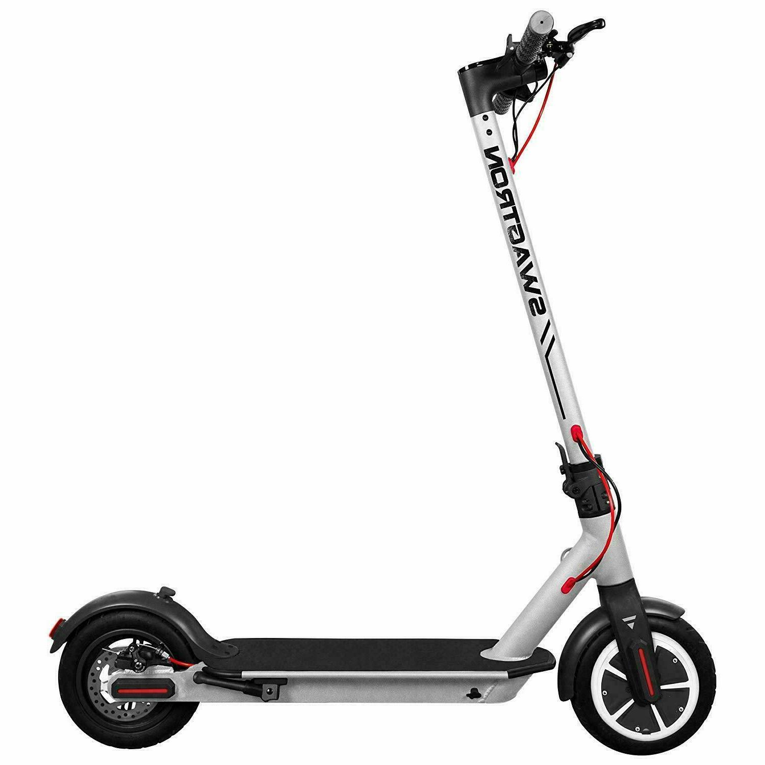 Silver Swagger 5 High Speed Electric Scooter Cruise Control