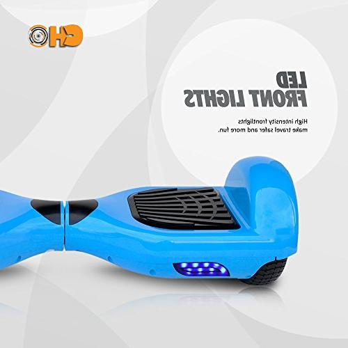 Smart Electric Self Hoverboard - Wheel Hover Segway Rechargeable Battery, MPH Speed, For Kids PSCOOT33BL