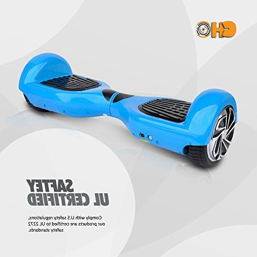 Smart Hoverboard - Segway Scooter Battery, Accessories, MPH Max Speed, PSCOOT33BL