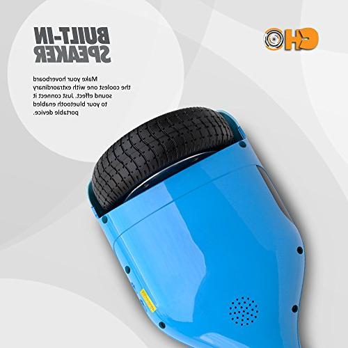 Smart Electric Balancing Hoverboard - 2018 Wheel Segway Battery, 8 MPH Max Speed, Kids Adults - PSCOOT33BL