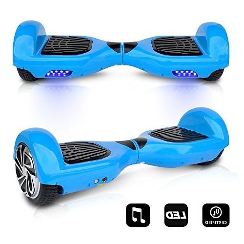 smart electric self balancing hoverboard