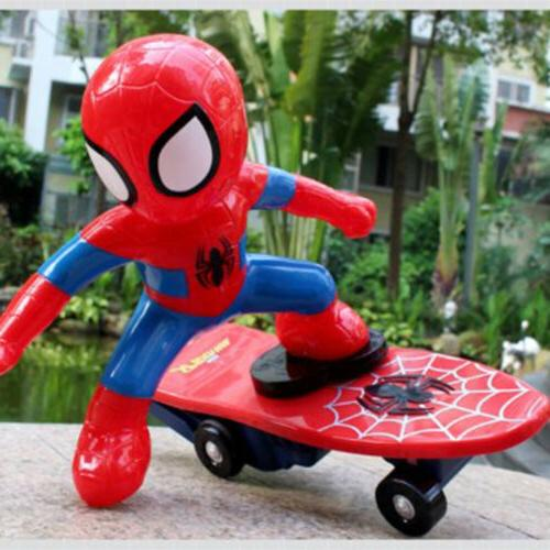 Spiderman 2.4GHZ Stunt Scooter Skateboard 360° Rotation