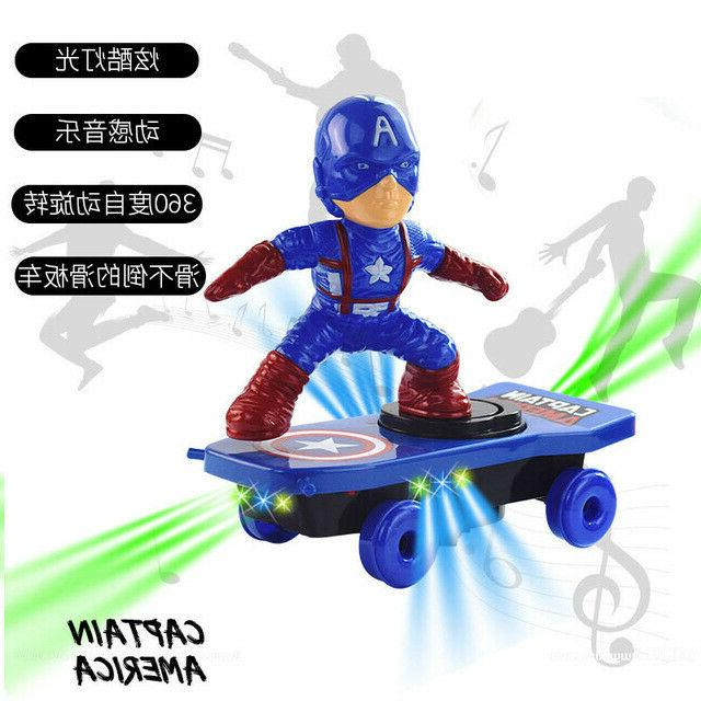 Spiderman/Iron Scooter Car Music