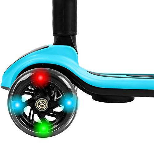 Voyager Streamer Wheel Adjustable Kick with Light and