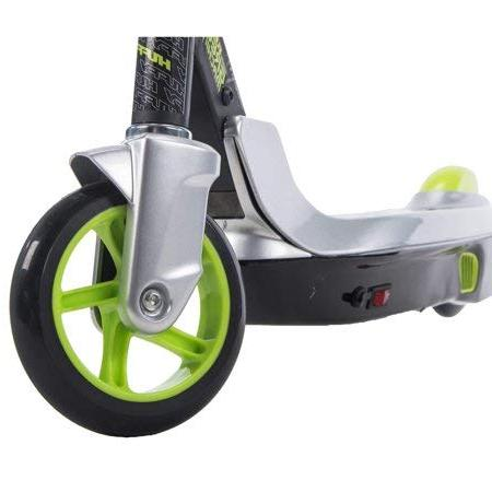 Sturdy, Smooth to Green Machine Battery-Powered Scooter With Rear Foot Fold Storage,a Gift