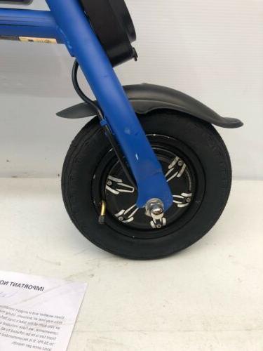 Super Hover-Way Blue Scooter Bike